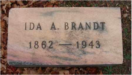 BRANDT, IDA A. - Fairfield County, Ohio | IDA A. BRANDT - Ohio Gravestone Photos