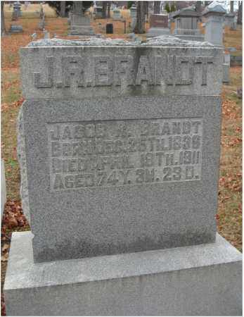 BRANDT, J. R. - Fairfield County, Ohio | J. R. BRANDT - Ohio Gravestone Photos