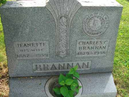 BRANNAN, CHARLES C. - Fairfield County, Ohio | CHARLES C. BRANNAN - Ohio Gravestone Photos