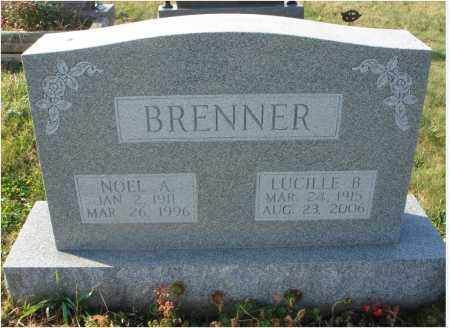 BICKLE BRENNER, LUCILLE - Fairfield County, Ohio | LUCILLE BICKLE BRENNER - Ohio Gravestone Photos