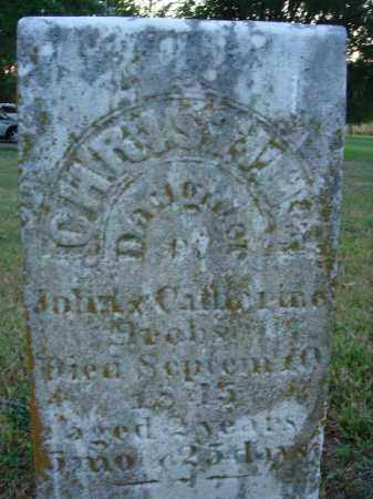 BROBST, CHRISTINE - Fairfield County, Ohio   CHRISTINE BROBST - Ohio Gravestone Photos