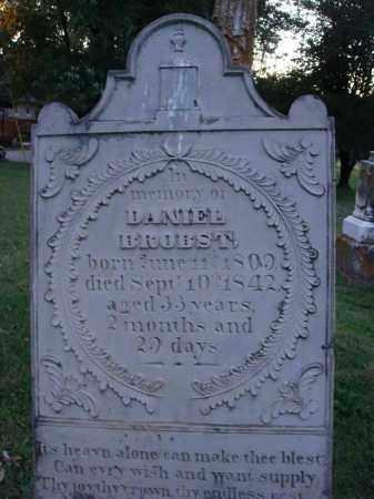 BROBST, DANIEL - Fairfield County, Ohio | DANIEL BROBST - Ohio Gravestone Photos