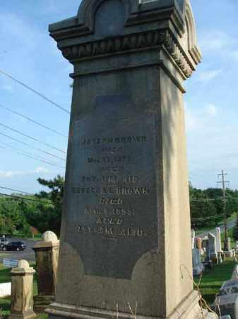 BROWN, REBECCA L. - Fairfield County, Ohio | REBECCA L. BROWN - Ohio Gravestone Photos