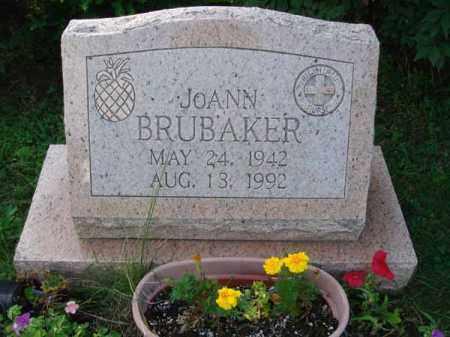 BRUBAKER, JOANN - Fairfield County, Ohio | JOANN BRUBAKER - Ohio Gravestone Photos