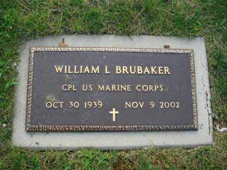 BRUBAKER, WILLIAM L. - Fairfield County, Ohio | WILLIAM L. BRUBAKER - Ohio Gravestone Photos