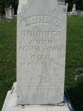 BRUNNER, JOHN G. - Fairfield County, Ohio | JOHN G. BRUNNER - Ohio Gravestone Photos