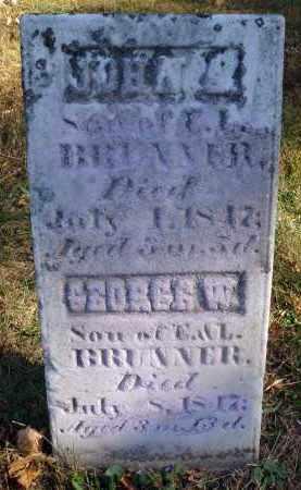 BRUNNER, JOHN S.? - Fairfield County, Ohio | JOHN S.? BRUNNER - Ohio Gravestone Photos
