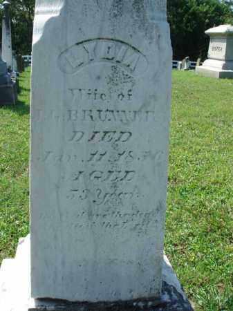 BRUNNER, LYDIA - Fairfield County, Ohio | LYDIA BRUNNER - Ohio Gravestone Photos