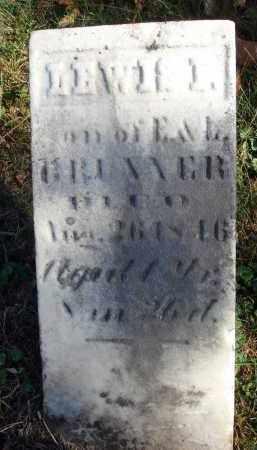 BRUNNER, LEWIS L. - Fairfield County, Ohio   LEWIS L. BRUNNER - Ohio Gravestone Photos