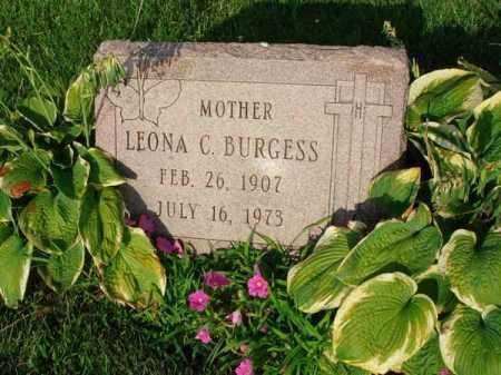 BURGESS, LEONA C. - Fairfield County, Ohio | LEONA C. BURGESS - Ohio Gravestone Photos