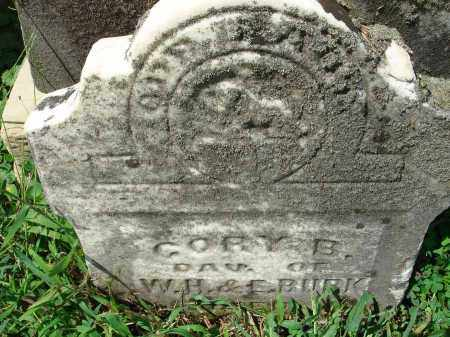 BURK, CORY B. - Fairfield County, Ohio   CORY B. BURK - Ohio Gravestone Photos
