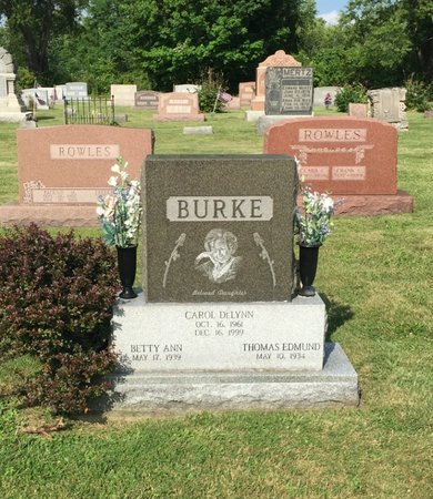 BURKE, BETTY ANN - Fairfield County, Ohio | BETTY ANN BURKE - Ohio Gravestone Photos