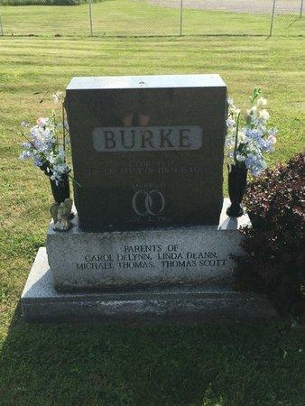 BURKE, THOMAS SCOTT - Fairfield County, Ohio | THOMAS SCOTT BURKE - Ohio Gravestone Photos