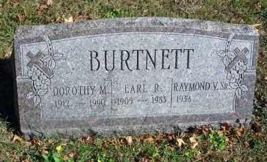 BURTNETT, EARL R. - Fairfield County, Ohio | EARL R. BURTNETT - Ohio Gravestone Photos