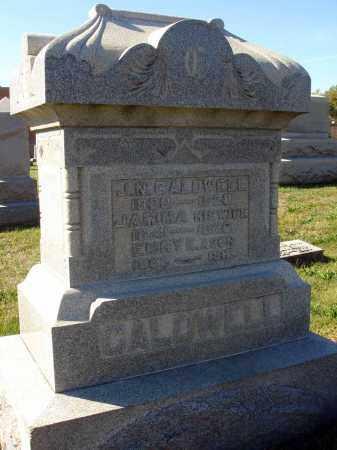 CALDWELL, J.N. - Fairfield County, Ohio   J.N. CALDWELL - Ohio Gravestone Photos