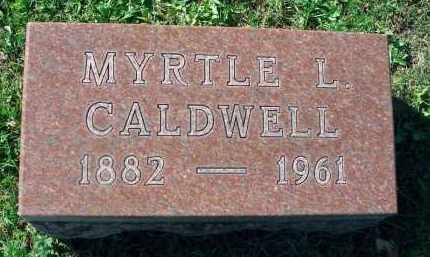 CALDWELL, MYRTLE L. - Fairfield County, Ohio | MYRTLE L. CALDWELL - Ohio Gravestone Photos