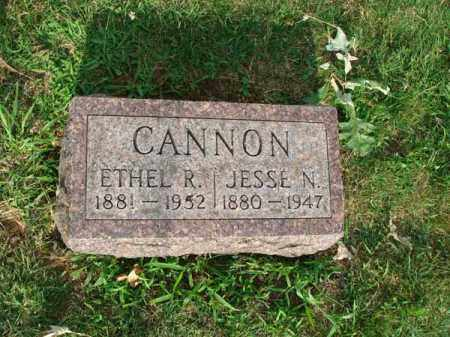 CANNON, ETHEL R. - Fairfield County, Ohio | ETHEL R. CANNON - Ohio Gravestone Photos