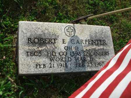 CARPENTER, ROBERT E. - Fairfield County, Ohio | ROBERT E. CARPENTER - Ohio Gravestone Photos