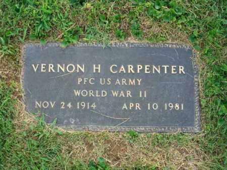 CARPENTER, VERNON H. - Fairfield County, Ohio   VERNON H. CARPENTER - Ohio Gravestone Photos