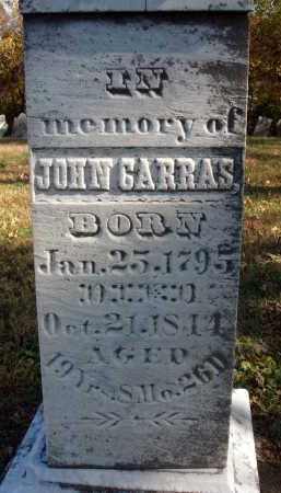 CARRAS, JOHN - Fairfield County, Ohio | JOHN CARRAS - Ohio Gravestone Photos