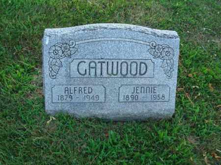 CATWOOD, JENNIE - Fairfield County, Ohio | JENNIE CATWOOD - Ohio Gravestone Photos