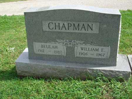 CHAPMAN, BEULAH - Fairfield County, Ohio | BEULAH CHAPMAN - Ohio Gravestone Photos
