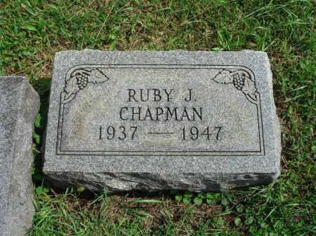 CHAPMAN, RUBY - Fairfield County, Ohio | RUBY CHAPMAN - Ohio Gravestone Photos