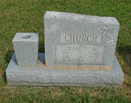 CHURCH, CHARLES D. - Fairfield County, Ohio | CHARLES D. CHURCH - Ohio Gravestone Photos