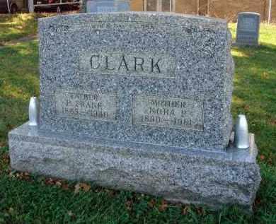 CLARK, NORA R. - Fairfield County, Ohio   NORA R. CLARK - Ohio Gravestone Photos