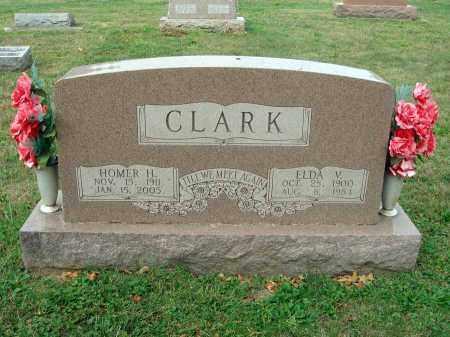 CLARK, HOMER H. - Fairfield County, Ohio | HOMER H. CLARK - Ohio Gravestone Photos