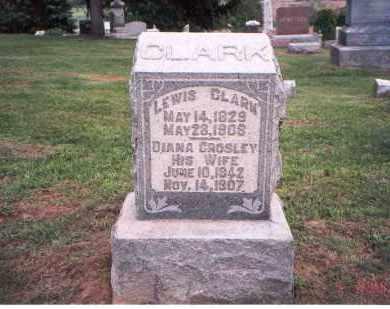 CLARK, DIANA - Fairfield County, Ohio   DIANA CLARK - Ohio Gravestone Photos