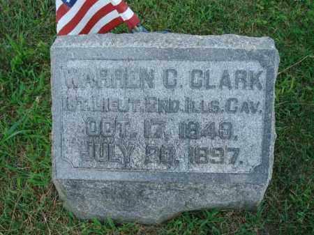 CLARK, WARREN C. - Fairfield County, Ohio | WARREN C. CLARK - Ohio Gravestone Photos