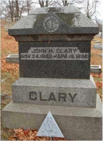 CLARY, JOHN H. - Fairfield County, Ohio   JOHN H. CLARY - Ohio Gravestone Photos