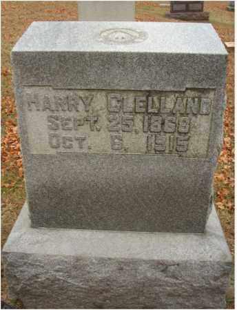 CLELLAND, HARRY - Fairfield County, Ohio | HARRY CLELLAND - Ohio Gravestone Photos