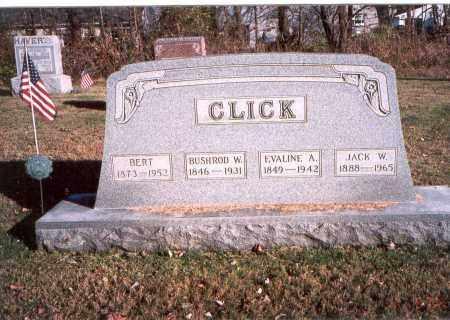MCMAHON CLICK, EVALINE A. - Fairfield County, Ohio | EVALINE A. MCMAHON CLICK - Ohio Gravestone Photos