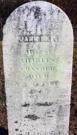 CON--?, JANE M. F. - Fairfield County, Ohio | JANE M. F. CON--? - Ohio Gravestone Photos