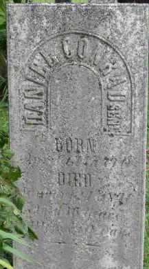 CONRAD, DANIEL - Fairfield County, Ohio | DANIEL CONRAD - Ohio Gravestone Photos