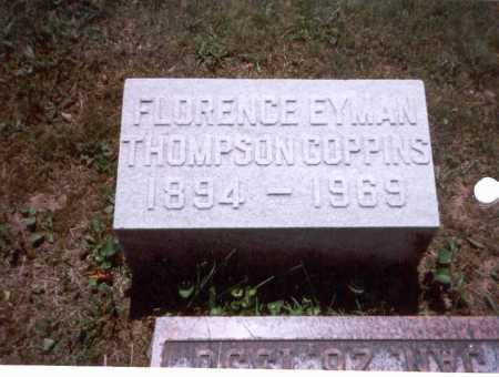 COPPINS, FLORENCE - Fairfield County, Ohio | FLORENCE COPPINS - Ohio Gravestone Photos