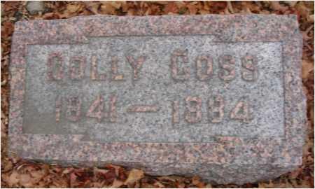 COSS, DOLLY - Fairfield County, Ohio | DOLLY COSS - Ohio Gravestone Photos