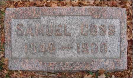 COSS, SAMUEL - Fairfield County, Ohio | SAMUEL COSS - Ohio Gravestone Photos