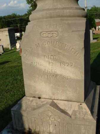 COURTRIGHT, EZRA M. - Fairfield County, Ohio | EZRA M. COURTRIGHT - Ohio Gravestone Photos