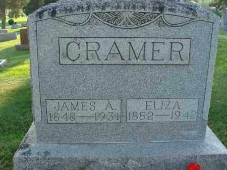 CRAMER, ELIZA - Fairfield County, Ohio   ELIZA CRAMER - Ohio Gravestone Photos