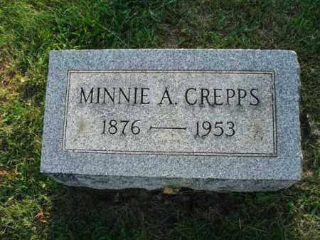 CREPPS, MINNIE A. - Fairfield County, Ohio | MINNIE A. CREPPS - Ohio Gravestone Photos