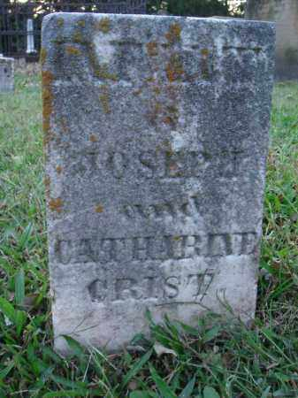 CRIST, INFANT - Fairfield County, Ohio   INFANT CRIST - Ohio Gravestone Photos