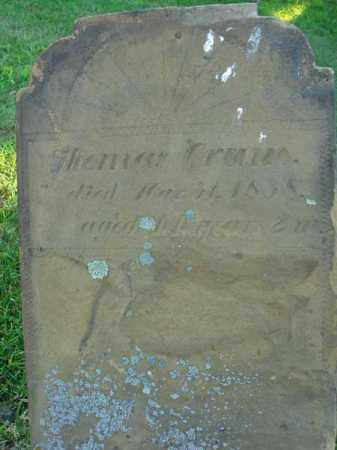 CRUM, THOMAS - Fairfield County, Ohio | THOMAS CRUM - Ohio Gravestone Photos