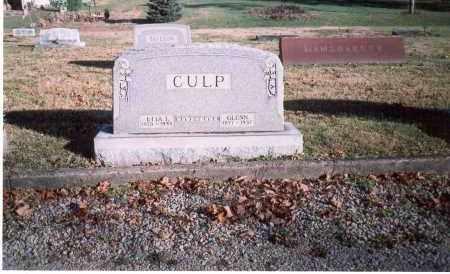 CULP, ETTA L. - Fairfield County, Ohio | ETTA L. CULP - Ohio Gravestone Photos
