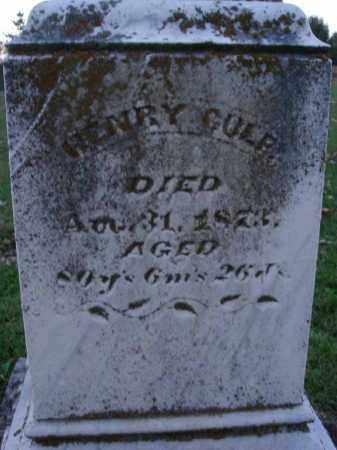 CULP, HENRY - Fairfield County, Ohio   HENRY CULP - Ohio Gravestone Photos