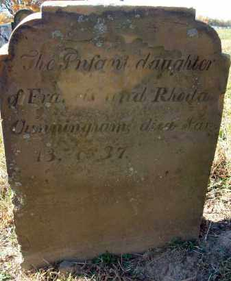 CUNNINGHAM, INFANT DAUGHTER - Fairfield County, Ohio | INFANT DAUGHTER CUNNINGHAM - Ohio Gravestone Photos