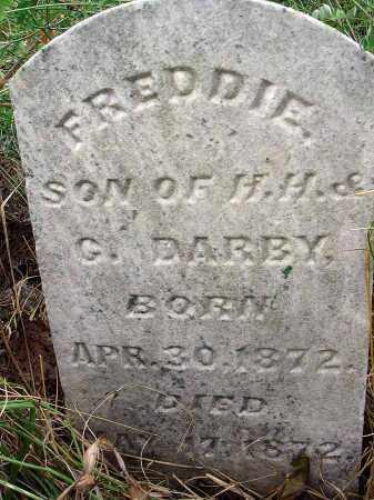 DARBY, FREDDIE - Fairfield County, Ohio | FREDDIE DARBY - Ohio Gravestone Photos