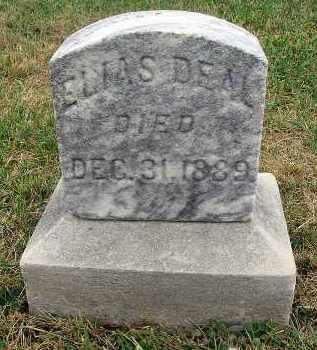 DEAL, ELIAS - Fairfield County, Ohio   ELIAS DEAL - Ohio Gravestone Photos
